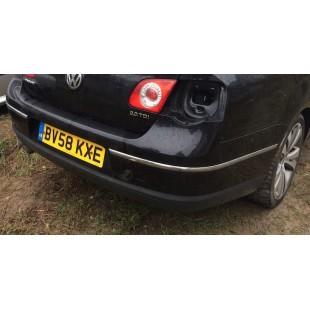 3C5807417. Бампер задний седан VW