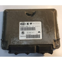 Блок управления двигателем Skoda Octavia Tour 1.6 AEE