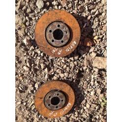 Тормозные диски передние шкода рапид.