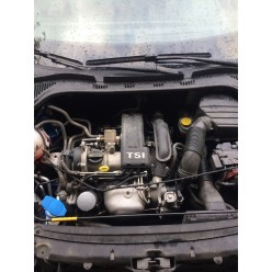 Двигатель 1.2 TSI CBZB Шкода Рапид