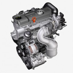 Двигатель CAXA 1.4 TSI  VW, Skoda